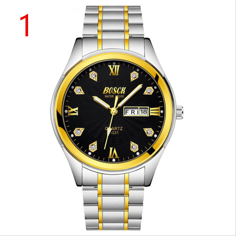 Mens new fashion stainless steel with simple leisure luxury business watch..01Mens new fashion stainless steel with simple leisure luxury business watch..01