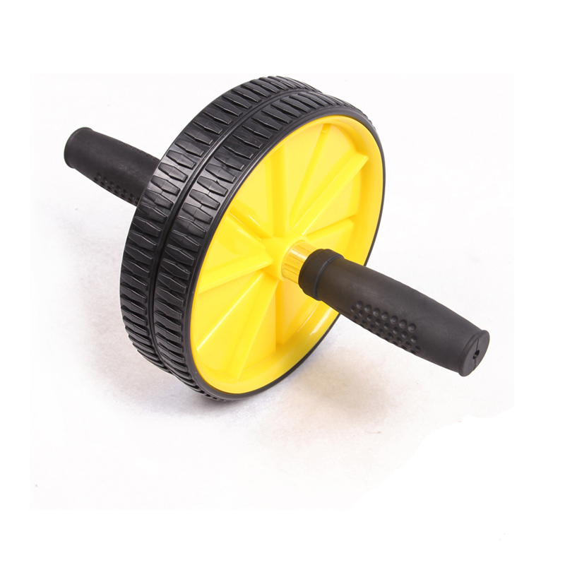 Free shipping Updated Version Abdominal Wheel Ab Roller With Mat For Exercise font b Fitness b