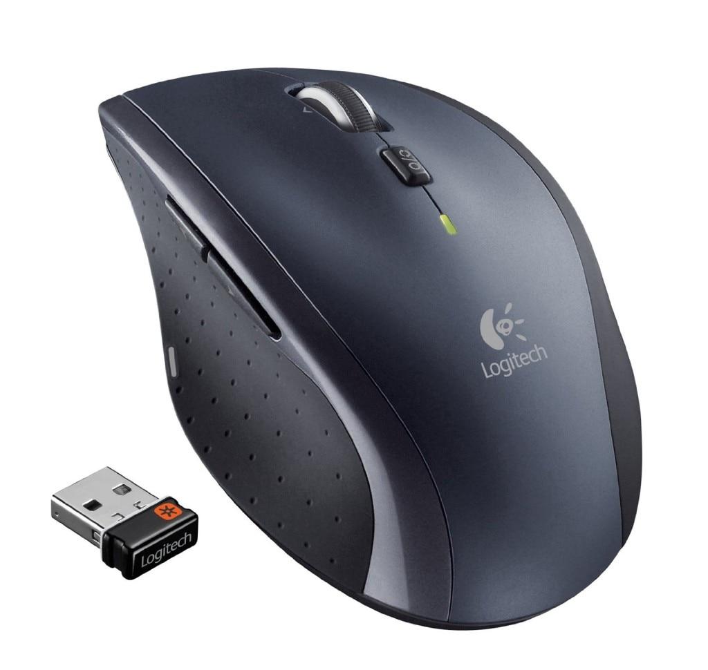 La souris sans fil Laser Logitech M705 supporte la vérification officielle avec 2.4 GHz sans fil 1000 dpi pour Windows 10/8/7