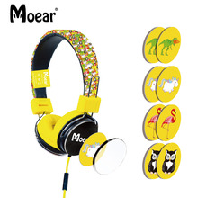 hot deal buy children kids cartoon headphones for tablet mp3 players pc