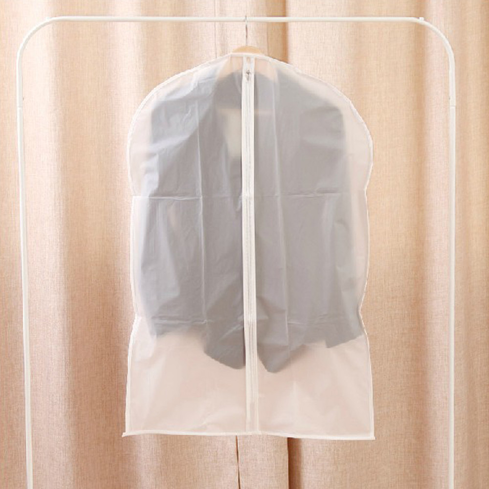 1pc Garment Suit Dress Jacket Clothes Coat Dustproof Cover Protector Travel Bag S/M/L Hanging Garment Coat Dustproof New(China)