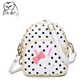 Famous Designer Crossbody Bag Small Shoulder Bag for Womens Polka Dot Handbags Small Messenger Bags for Girls Woman Bow Handbag