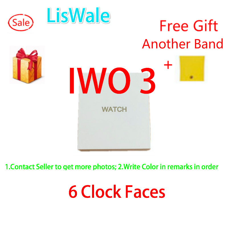 New 1:1 42mm Smart Watch IWO 3 Heart Rate WhatsApp Smartwatch IWO 2 Upgrade Bluetooth Notification Music Watch For iOS Android 2017 bluetooth smart watch iwo 3 heart rate monitor iwo 2 upgrade 42mm iwo 1 1 3rd generation smartwatch w52 for ios android