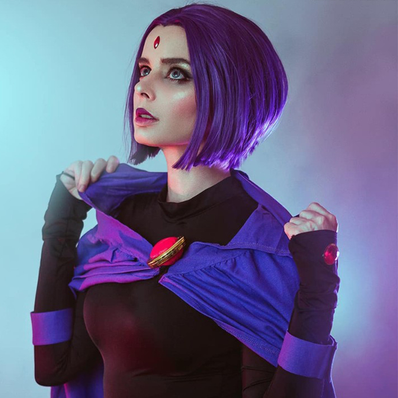 New Teen Titans Trigonify Raven Roleplay Costume Bb Beast -1671