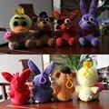 4 pcs fnaf 5 Cinco Noites Com Freddie Cinco Noites Em Freddy Boneca jogo Foxy Bonnie Chica Figuras Boneca Crianças Brinquedo Para Crianças oyuncak