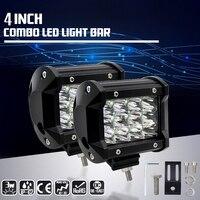 Car-Styling 36W LED Work Light 12V CREE Chips 24V Off Road Driving 12 LED Spot Light Bar for Motorcycle Tractor Boat Moto
