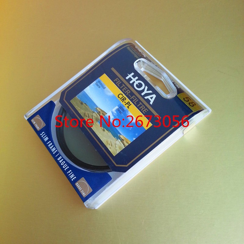 Hoya CPL Delgado Filtro 46mm 49mm 52mm 55mm 58mm Polarizante Circular/Polarizador CIR-PL Para Lente de la cámara