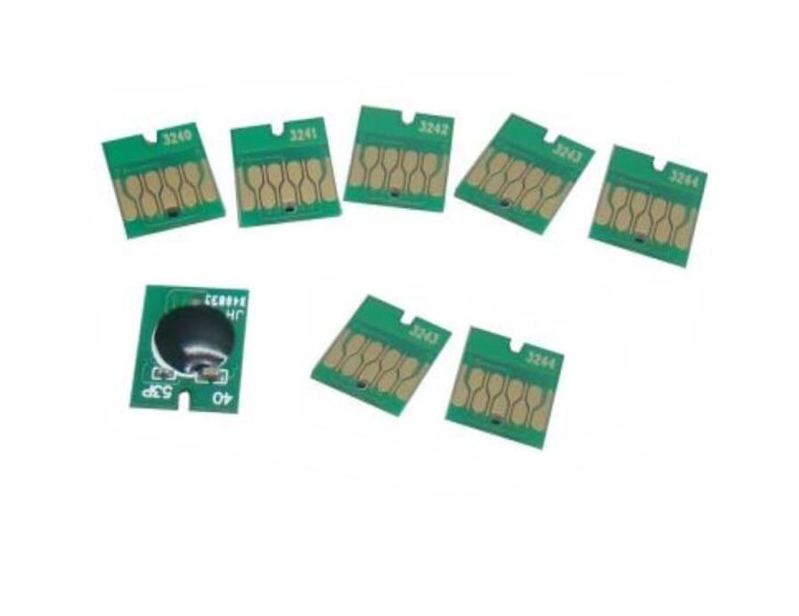 T3240 T3241 T3242 T3243 T3244 T3247 T3248 T3249 Auto Resetter Chip For Epson Surecolor P400 Printer vilaxh for epson p600 chip resetter for epson surecolor sc p600 printer t7601 t7609 cartridge resetter