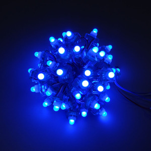 Image 4 - Mokungit 50pcs 12MM WS2811 מלא צבע T1515 כיכר פיקסל LED מודול תאורה מחרוזת 5V 12V RGB waterproof מיעון דיגיטלי