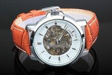 Brand Men's BIAOKA watch men waterproof mechanical watch Leather wristwatch 2017 luxury business watch skeleton reloj hombre