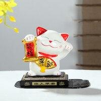 [Producenci] hurtownie kot samochód dekoracji porcelany Porcelany Kot Zhaofu pokoju kryształ blok