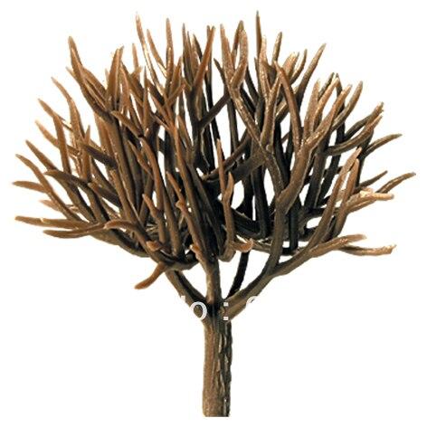 Model Tree Scale Train Layout Set Model Scale Trees In Size 50mm GT08-30 Plastic Model Tree Arm Tree Trunk