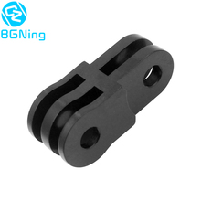 CNC Extension Activity Connector for 3 way Pivot Arm for Gopro Hero 6 5 4 /SJ4000 / yi Action Camera Tripod Mount Adapter