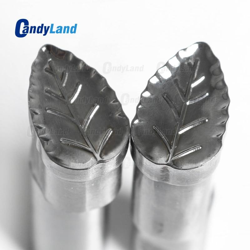 CandyLand Leaf Milk Tablet Die 3D Pill Press Mold Candy Punching Die Custom Logo Calcium Tablet