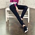 2016 New Autumn Fashion Sexy Stretched Clothes Quick Dry Women Sportswear Leggings Fitness Active Pants Y25194