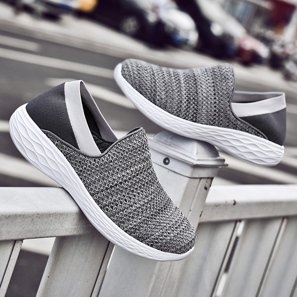 Unisex women sneakers fashion casual shoes platform sneakers for men black breathable mesh sock sneakers Tenis Feminino Couple(China)
