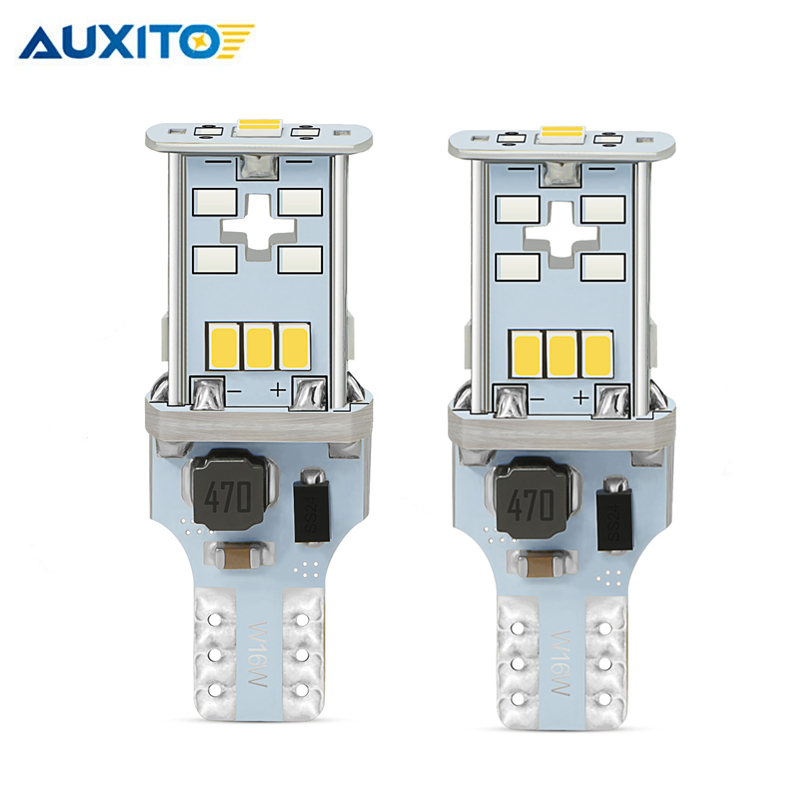2pcs W16W <font><b>LED</b></font> Canbus T15 921 912 Car <font><b>LED</b></font> Backup Brake Reverse Light for <font><b>Mazda</b></font> 3 6 cx-5 cx 5 2 323 626 mx5 cx-5 rx8 <font><b>cx7</b></font> Axela image