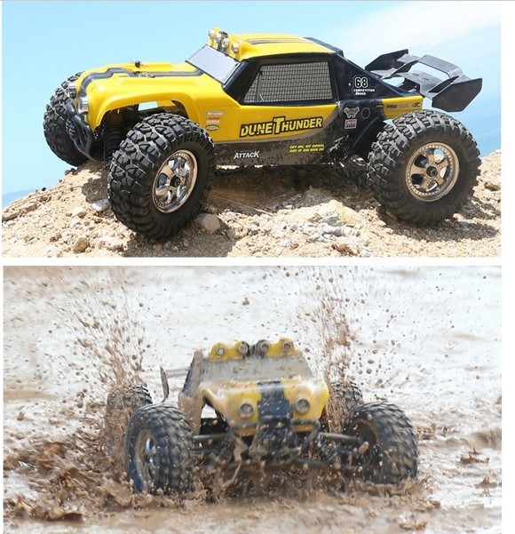 12891 RC Car HBX 12891 Thruster 40km/h 1:12 2.4GHz 4CH Drift Remote Control Car Desert Off-road High Speed waterproof цена 2017