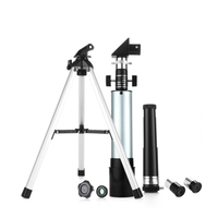 1 Set F36050 Portable Refractor Astronomical Telescope Professional High Power High Definition for Kids