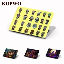 KOPWO Halloween Laptop Protective Hard Case for New Apple Macbook Air Pro 11 12 13.3 15 Inch Retina Transparent Notebook Cover