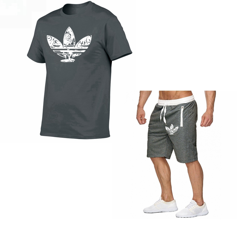 2019-summer-hot-sale-men's-sets-t-shirts-shorts-two-pieces-sets-casual-tracksuit-new-male-casual-tshirt-fitness-trousers-men