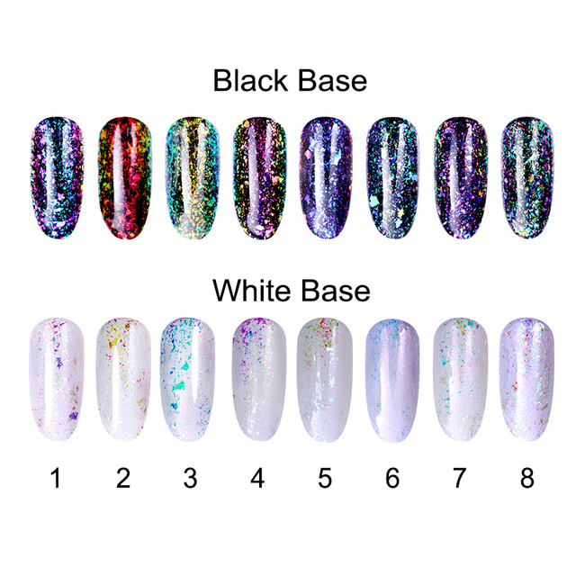 BORN PRETTY Chameleon Transparent UV Gel Polish Lacquer Soak Off ...