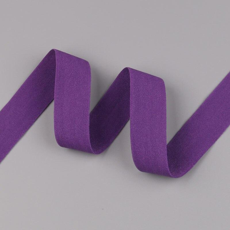 5 ярдов/Лот 20 мм ширина 34 цвета эластичная лента использование для diy аксессуары и одежда галстук лента для волос - Цвет: 34