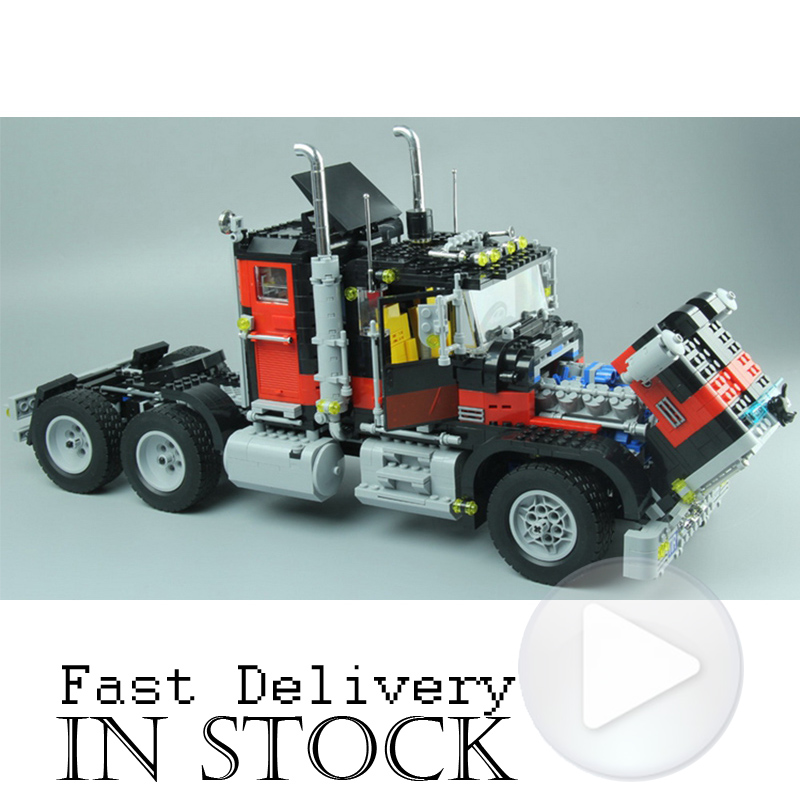 Creative Series LEPIN 21015 1743Pcs The American Black Cat Truck Set 5571 Educational Building Blocks Bricks Children Toys Gift building blocks single sale stephen curry american professional basketball player labron james bricks children gift toys kf406