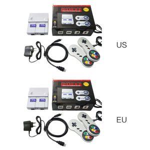 Image 1 - Super mini hdmi snes nes retro clássico console de jogos de vídeo jogador de jogo de tv embutido 821 jogos com gamepads duplos