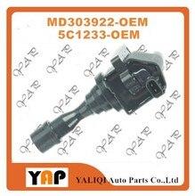 High Quality Ignition Coil FOR FITMITSUBISHI Montero Pajero NJ NK V33 6G74 3.5L V6 24V MD303922 5C1233 1993-1997