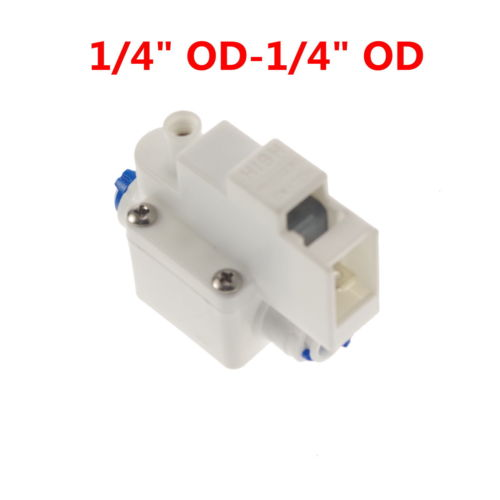 Reverse Osmosis Tank High Pressure Switch Aquarium RO Water 1/4 OD Tube Fit