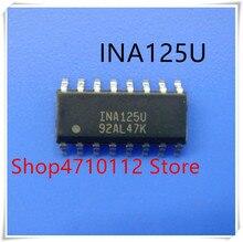 NEW 10PCS/LOT INA125UA INA125U INA125 SOP16