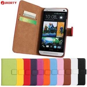 Чехол для HTC One M7, кожаный чехол с отделением для карт, чехол-кошелек, чехол для HTC One, чехол с откидной подставкой