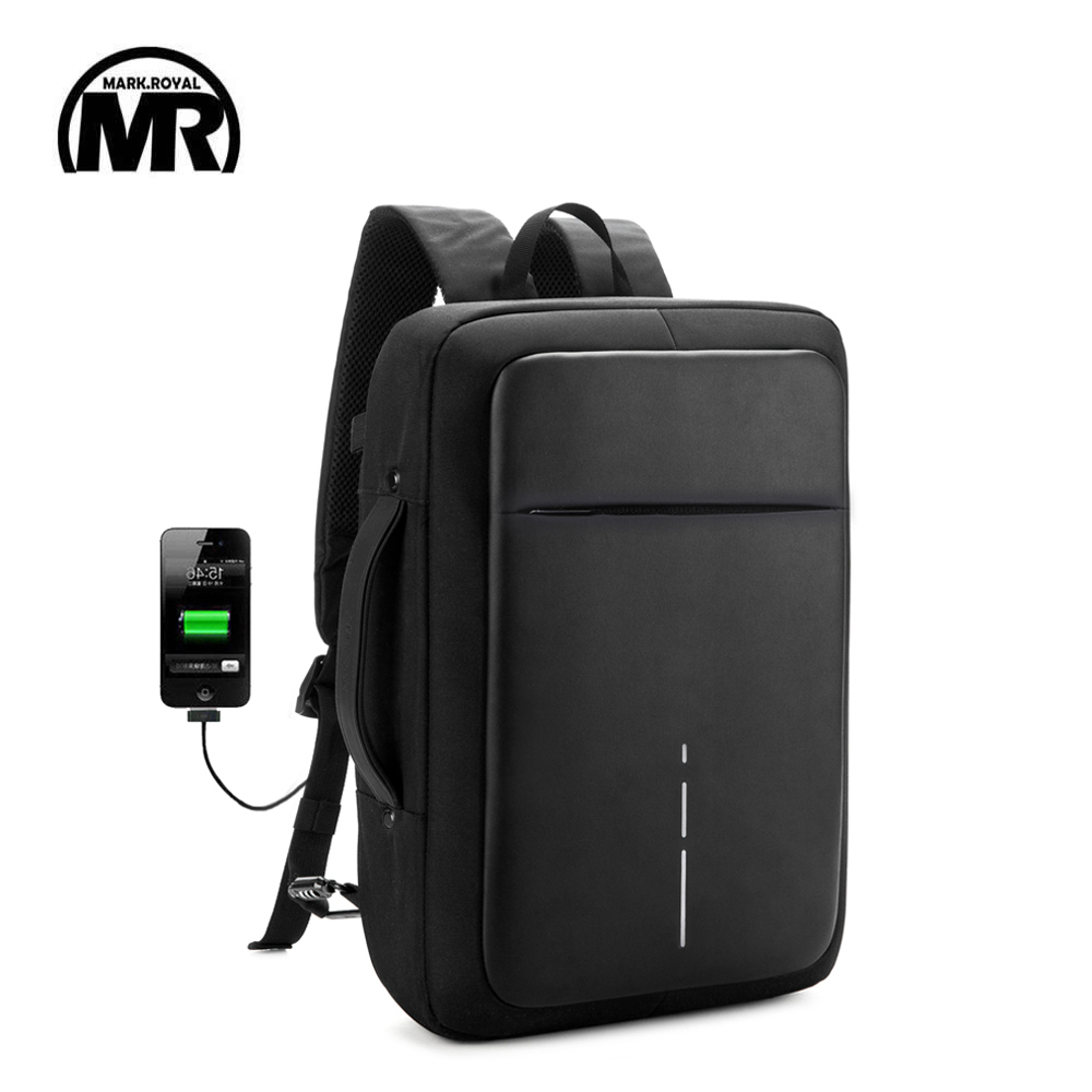 MARKROYAL 2018 New Men Women Large Capacity Business Backpack Men Business Shoulder Bag Fits 15.6 inch Laptop portable Mochila ...