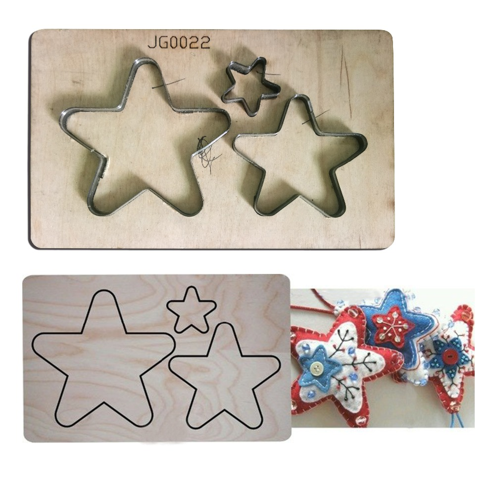 3 Stars layer frames Wood Dies Cut Mold Accessories for DIY Paper,Leather,Felt, Steel Punch Crafts Photo Card Scrapbooking Decor3 Stars layer frames Wood Dies Cut Mold Accessories for DIY Paper,Leather,Felt, Steel Punch Crafts Photo Card Scrapbooking Decor