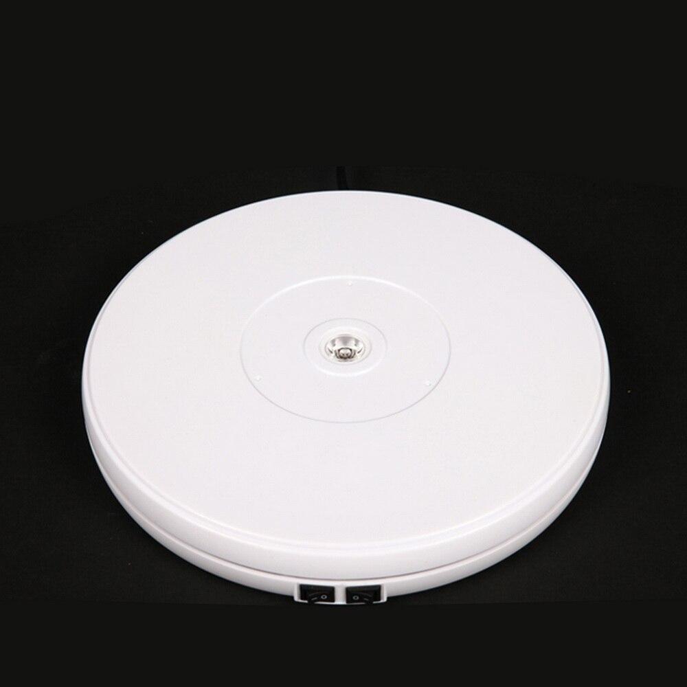 25 cm/45 cm/60 cm lumière LED 360 Degrés Électrique Plateau Tournant Pour La Photographie Charge Maximum 10 kg/40 kg