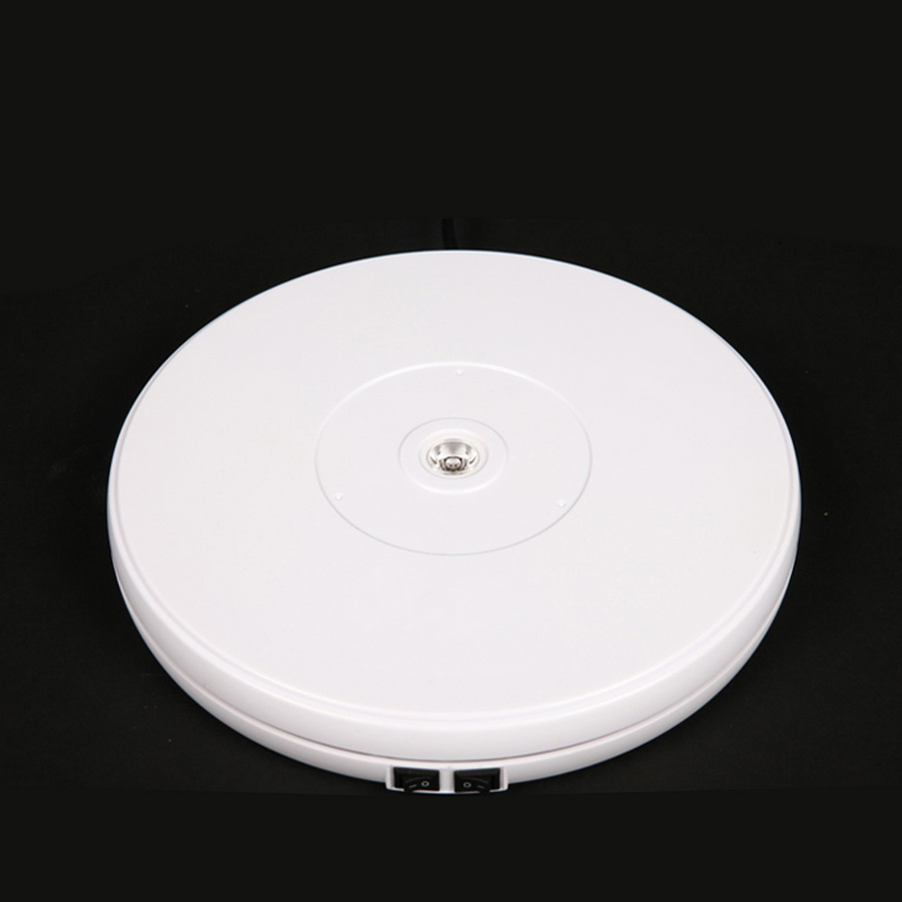 25cm/45cm/60cm Led Light 360 Degree Electric Rotating Turntable For Photography Max Load 10kg/40kg