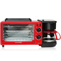Electric toaster multi function puke driver 3 in one breakfast machine home full automatic toaster box