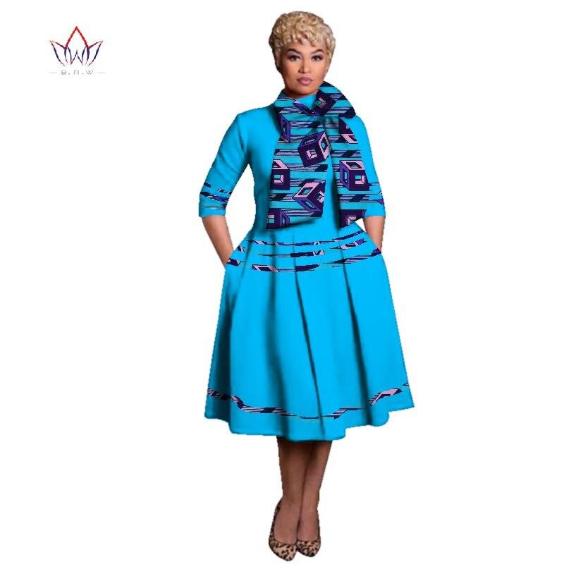 Pour Vetements Wax 12 8 Africains Riche 18 longueur 20 Été Bazin 6 11 10 3 Imprimé 14 Impression 1 17 Femme Wy3135 Genou 2 Robes Femmes Africain 4xl nx1In0fq7