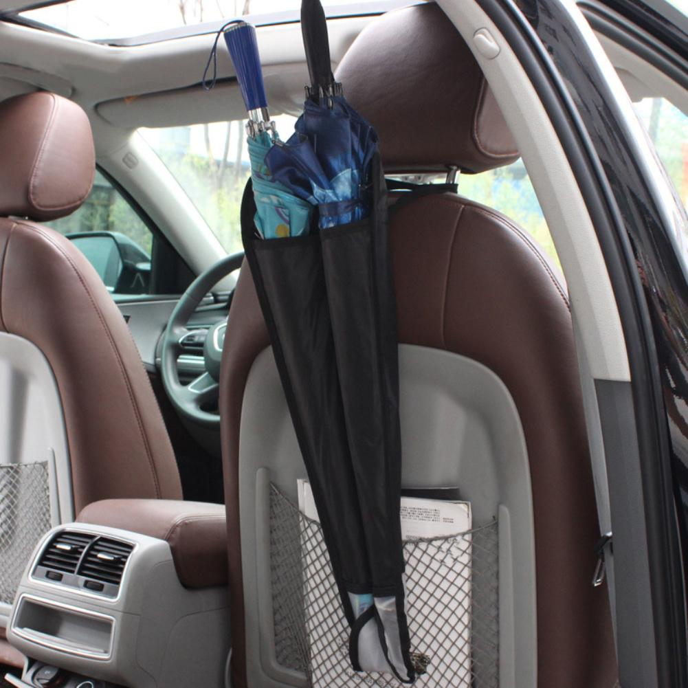 Car Seat Back Hanging Bag Umbrella Sleeve Holder Foldable Organizer Storage