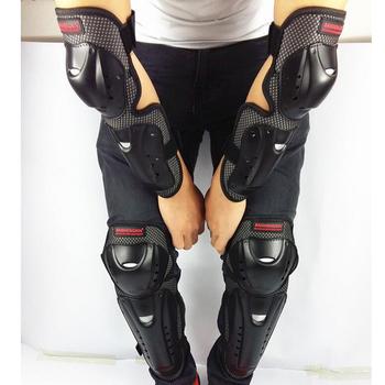 1 zestaw motocykl kolarstwo łokieć i ochraniacze na kolana ochraniacze ochraniacze Motocross wyścigi kolana goleń i ochrona łokcia Kneepad ochronny tanie i dobre opinie perfeclan