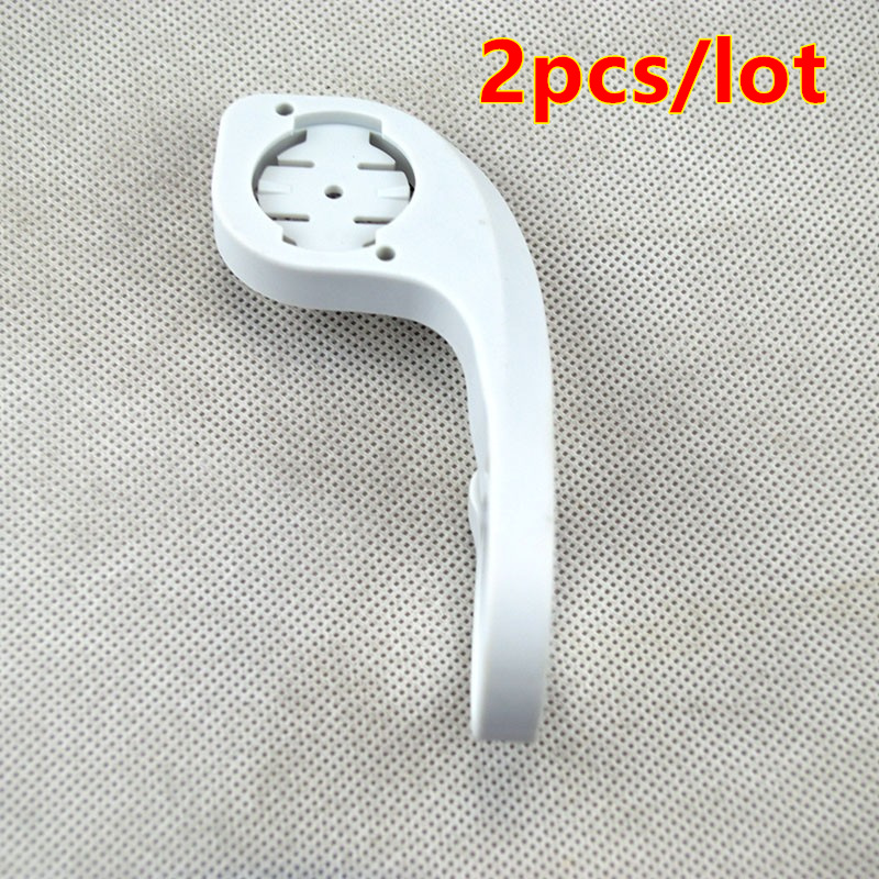 2pcs/lot Bicycle Computer Handlebar Mount For Garmin Edge 200 500 800 510 810 QuickView Stopwatch mount 31.8mm white