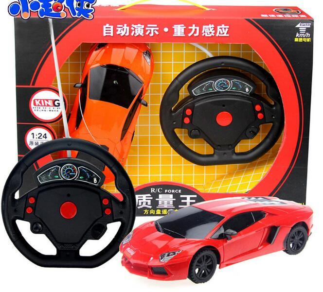 Boy toys 1 24 4CH rc car model baby toys 4 channels remote control car micro