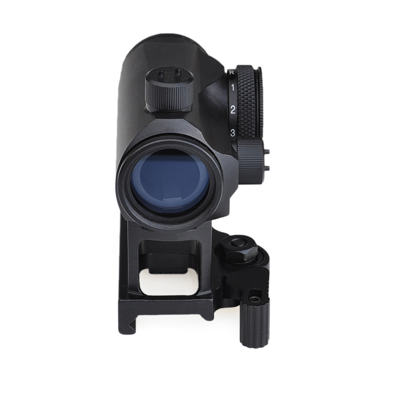 Tactical Mini 1X24 <font><b>T1</b></font> <font><b>Red</b></font> Green <font><b>Dot</b></font> Sight Illuminated Sniper Rifescope With 45degree Offset Mount,QD Mount and Low Mount Hunting image