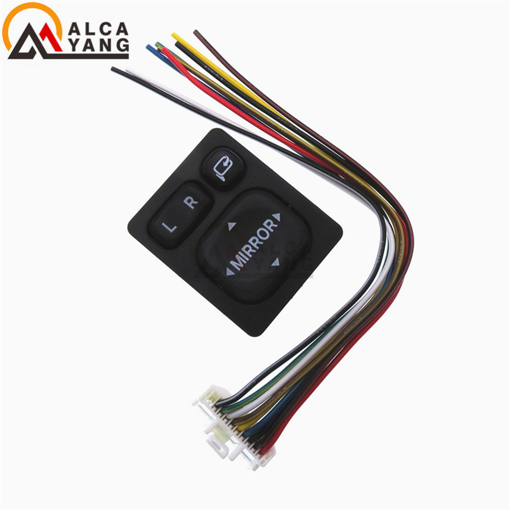 Power Mirror Control Switch 84872 52030 84870 34010 Folding Rear Ford F 150 Wiring View Button For Toyota Rav4 Vios Camry Scion Lexus In Car Switches Relays