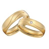 custom titanium jewelry high polishing vintage wedding bands rings sets gold color alliance