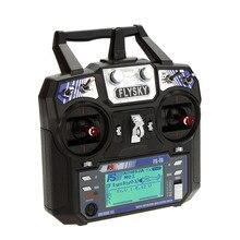 FS i6 6CH 2.4G LCD משדר iA6 מקלט מצב 2/1 Flysky רדיו מערכת עבור RC מסוק מטוס Quadcopter גלשן מזלט