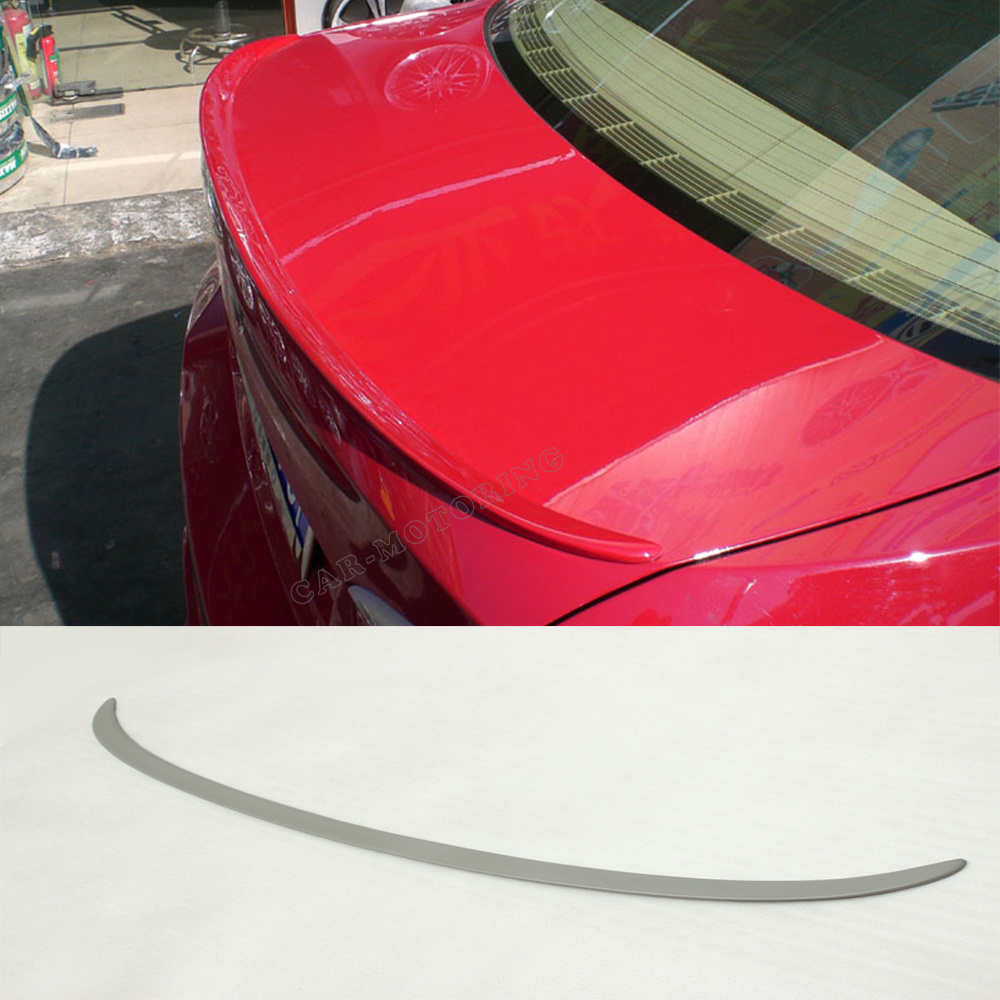 3 Series E90 M3 Car-Styling PU Car Trunk Rear Spoiler Wing For BMW E90 2005-2008