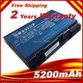 6 células 5200 mah para el ordenador portátil de la batería Acer Aspire 50L6 3100 3103 3103 WLCi 3104 120 3690 3692 5100 5101 5102 Series