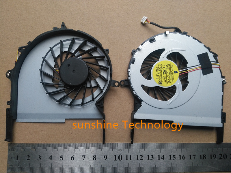Nuevo ventilador del refrigerador de la CPU del cuaderno para Acer Aspire 7745 7745G 7745Z FORCECON F96M DC 5 V 0.5A DFS551205ML0T